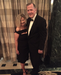 Jeannie Eatman Kaled and Norman Asbjornson attend Republican Victory Ball Mayo Hotel 2017