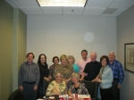 Oct 11, 2012 - Last meeting before 45th reunion,  WE ARE READY! Ira Smith, Judy Stevenson Rockrock, Sara Cooper Allen, K