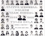 5th grade students at Holmes Elementary that went on to Memorial High School. Can you find Paula Johnson, Brad Messer, S